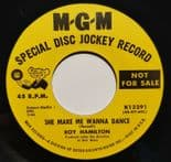 "45Re✦ROY HAMILTON✦ ""She Make Me Wanna Dance / You Can Count On Me"" Great Mover ♫"
